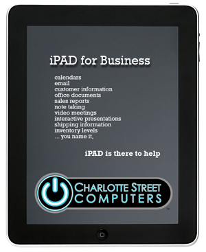 Asheville iPAD for Business Class