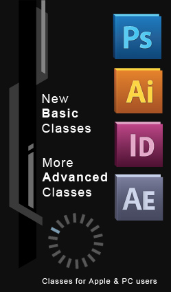Many new Basic and Advanced computer training classes have been added.