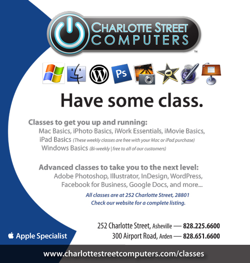 Asheville Computer Training Classes