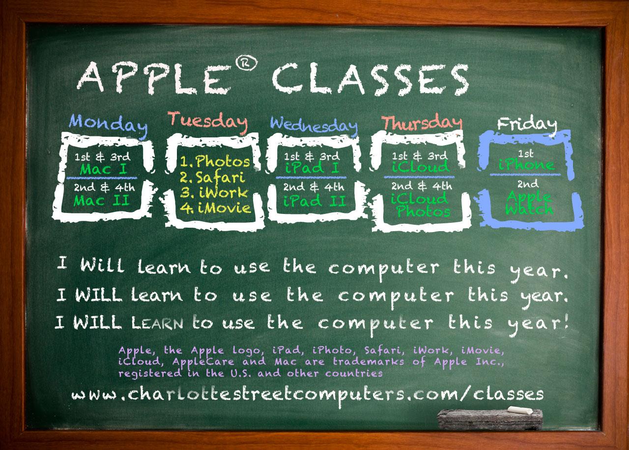Computer classes tutoring charlotte street computers apple computer classes tutoring apple classes baditri Images